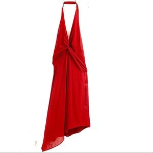 Laundry By Shelli Segal, Red High Low Dress. Sz. 6